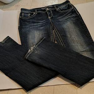 Maurice's straight leg or bootcut denim jeans